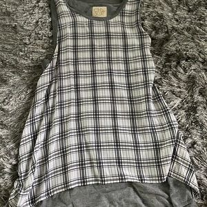 Chaser Plaid Tank